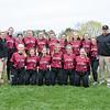 Spring 2017 girls varsity softball team photo