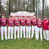 Spring 2017 boys' varsity baseball seniors photo