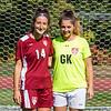 Girls Varsity Soccer Captains 2016