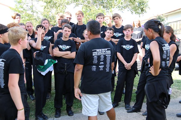 Dripping Springs Drumline Contest