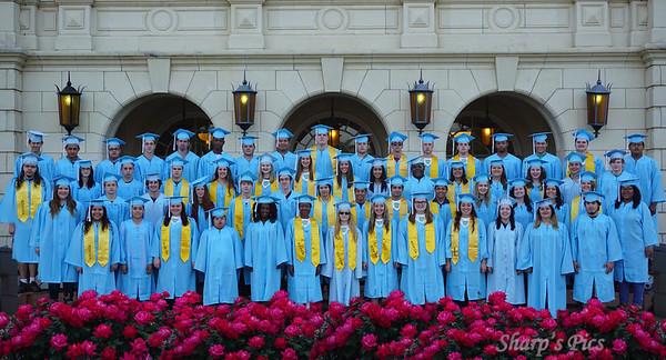 Graduation Practice and Walk Graduation shots
