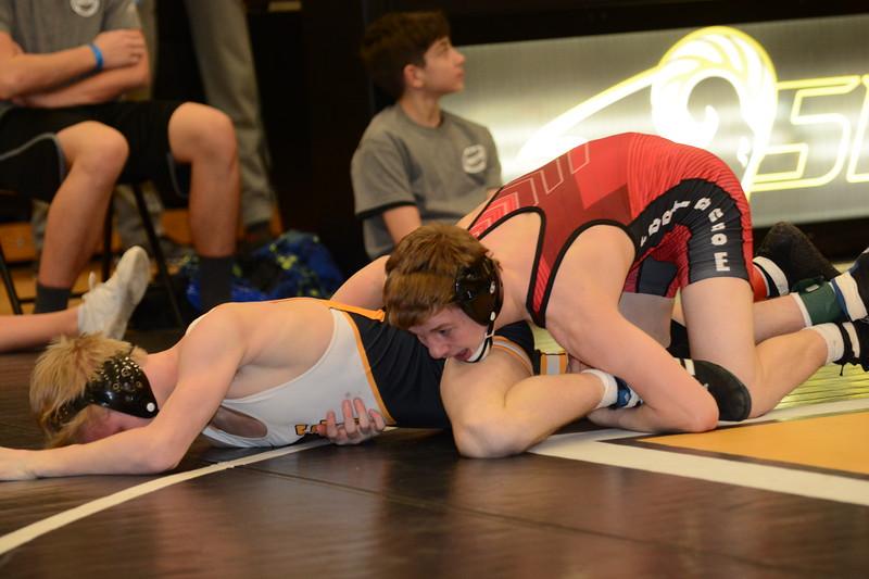 2017 CIML Tournament<br /> 120 - 1st Place - Brody Teske (Fort Dodge) won by major decision over Gauge Perrien (Southeast Polk) (MD 20-9)