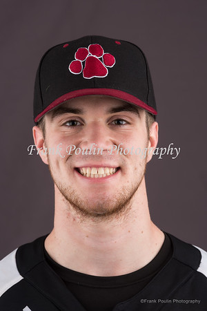 Anna Maria College baseball headshots