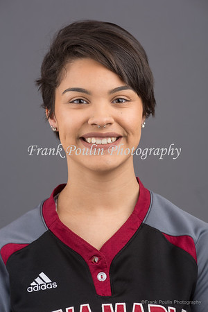 Anna Maria College softball headshots