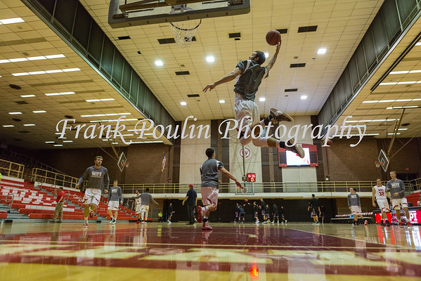 WPI men's basketball 11/15/2016