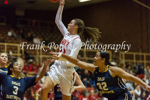 WPI women's basketball 11/15/2016