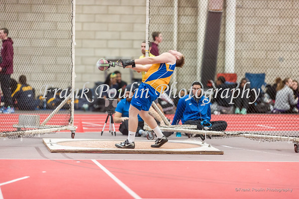 Worcester State indoor track & field 2/4/2017