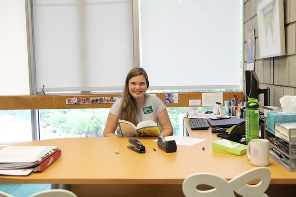 Josie Baranski Head of School for the Day
