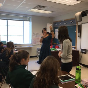 EC students visit Middle School math