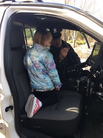 Police Visit Early Childhood Classes