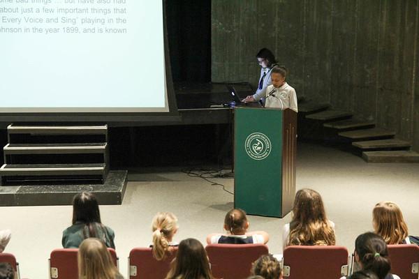 Lower School Black History Month Presentation