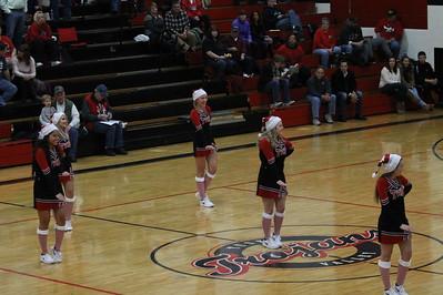 Cheer @ Orrville Basketball