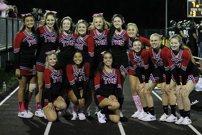 Cheerleaders @ Fairless Game