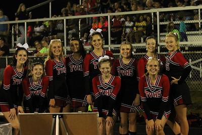 Cheerleaders @ Sandy Valley Football