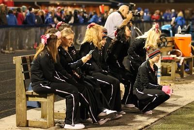 Cheerleaders @ Tuslaw Game
