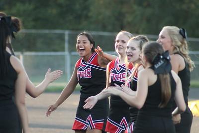 Cheerleaders @ Waynedale Football