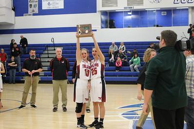 Girls' Basketball vs. Barnesville (District Finals)