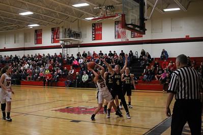 Girls' Basketball vs. Monroe Central