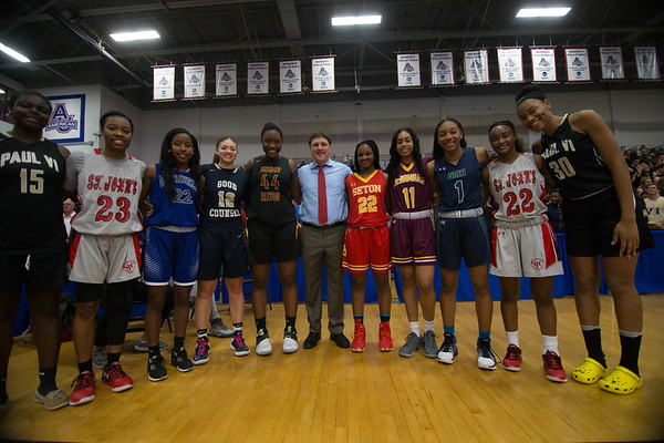 All-WCAC Basketball team