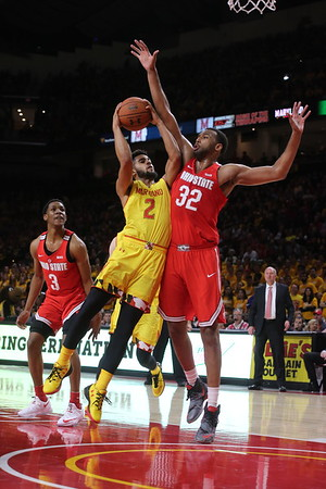 College Basketball: Maryland Terps vs. Ohio State Buckeyes