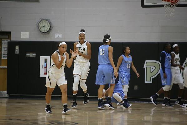 Girls Basketball: Paul VI at Art Turner