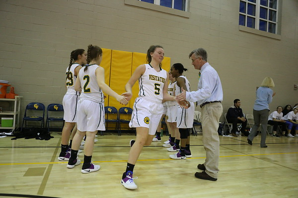 Girls basketball: Visitation vs. Holy Child