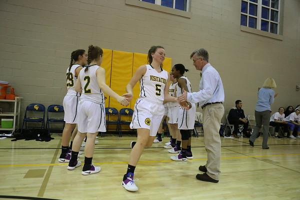 Girls basketball: Visitation vs. Holy Child