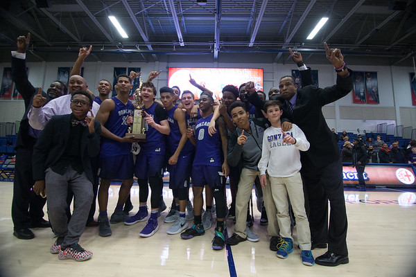 WCAC Boys Basketball Championship : Gonzaga vs Paul VI