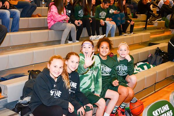 Girls Senior Night vs Eastlake, 02-03-17