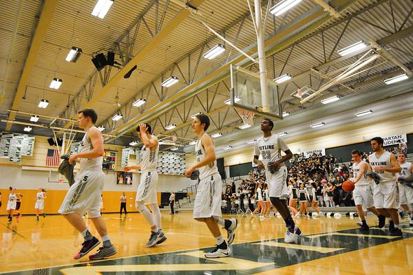 Skyline Boys Varsity vs Newport, 01-27-17