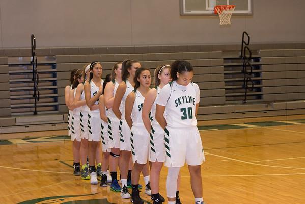 Skyline Girls Varsity vs CDA, 12-2-16