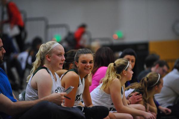Skyline Girls Varsity vs Newport, 01-27-17