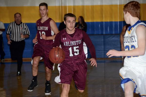 2016 AMHS Boys Varsity Basketball vs Poultney photos by Gary Baker
