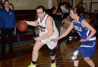 2016 AMHS JV Girls Basketball vs Granville photos by Gary Baker