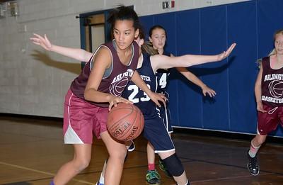 2016 AMHS M.S. Girls Basketball vs MEMS photos by Gary Baker