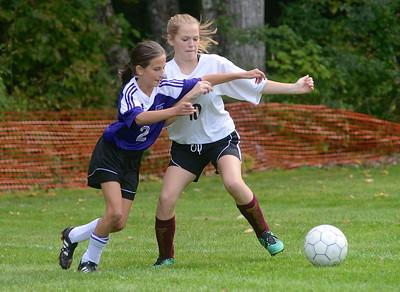 2016 AMHS M.S. Girls Soccer vs Maple Street photos by Gary Baker