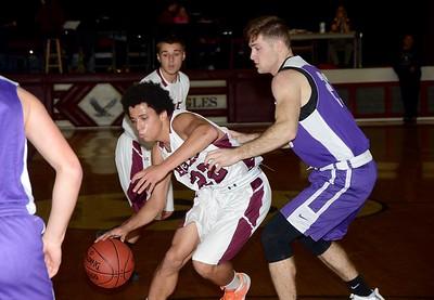 2016 AMHS Varsity Boys Basketball vs Salem photos by Gary Baker