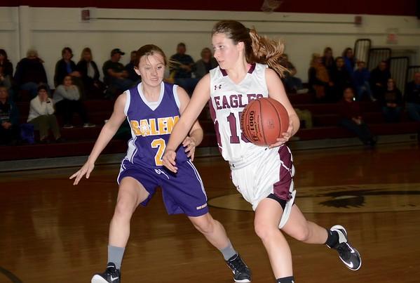 2016 AMHS Varsity Girls Basketball vs Salem photos by Gary Baker