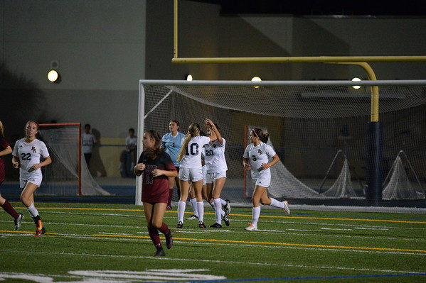 12-6-16 Girls Soccer Douglas the game Arielle scored