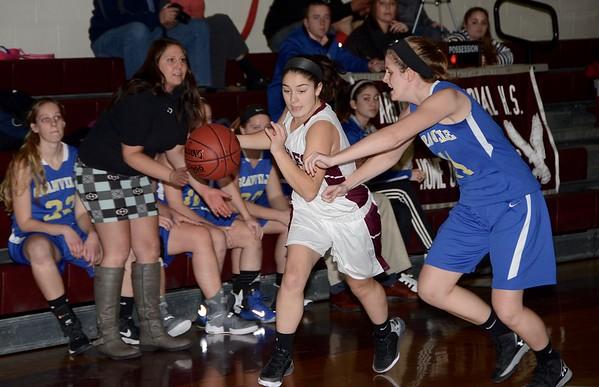 2016 Girls Varsity  Basketball vs Granville photos by Gary Baker