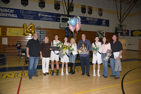 1-23-2017 Girls Basketball Senior Night