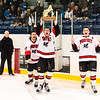 Boys Varsity Hockey - NEPSAC Small School Championship: Pomfret defeated Cushing 3-2, in overtime, on March 5, 2017 at St. Anselm College in Goffstown, New Hampshire.