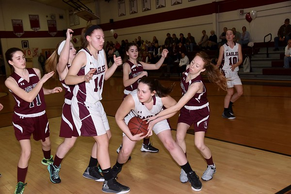 2017 AMHS Girls Varsity Basketball vs BR photos by Gary Baker