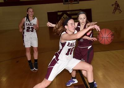 2017 AMHS Girls Varsity Basketball vs Proctor photos by Gary Baker