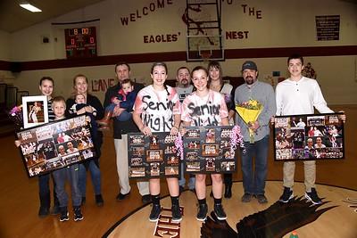 2017 AMHS Girls Varsity Basketball...A Senior Moment photos by Gary Baker