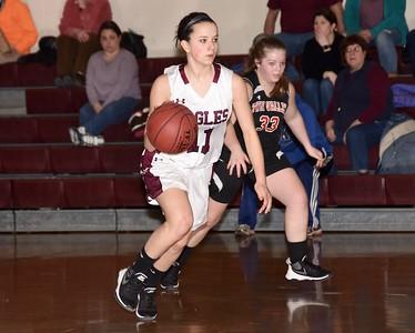 2017 AMHS JV Girls Basketball vs Twin Valley photos by Gary Baker