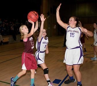2017 AMHS M.S. Girls Basketball vs Maple Street photos by Gary Baker