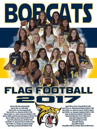 2017 Flag Football Poster