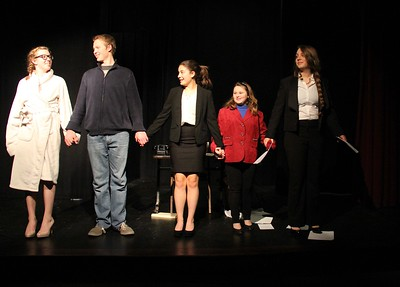 AMHS One Acts ... Bravo! photos by Gary Baker
