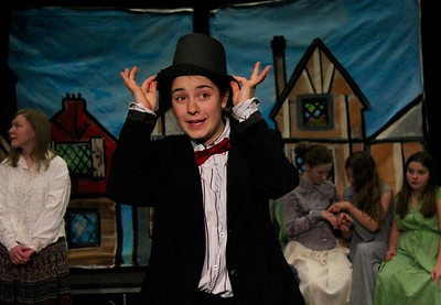 AMHS Presents...Oliver Twist...A Preview I photos by Gary Baker